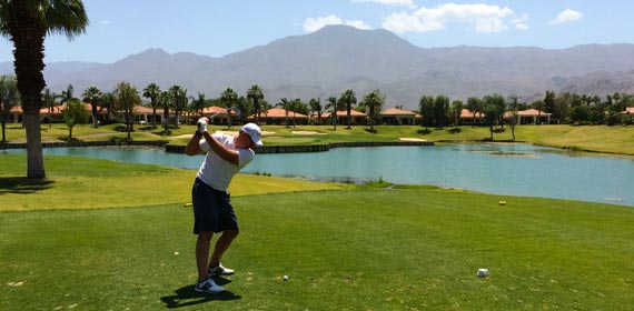 Mark at PGA West Nicklaus Course