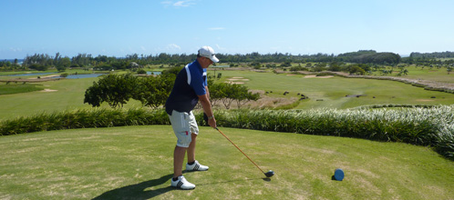 Mark and Stuart's Golfing holiday in Mauritius