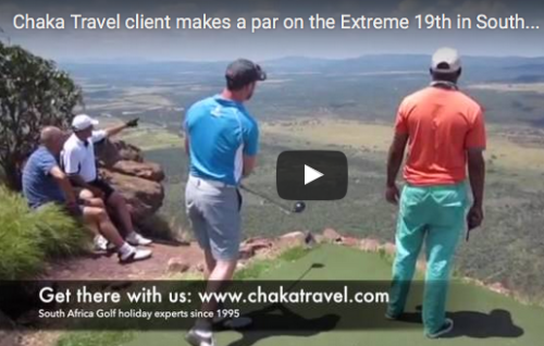 WATCH: Our Client Glen makes Par at the Extreme 19th (Legend Golf & Safari, South Africa)