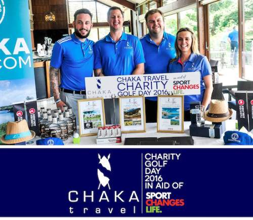 """""""A great success""""… Chaka Travel Charity Golf Day 2016 in aid of Sport Changes Life."""