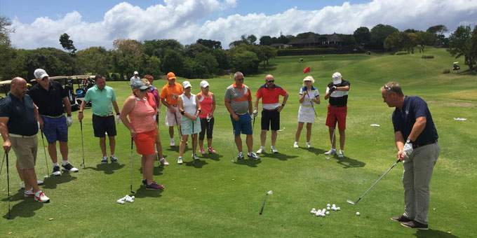 Jacques Escorted Tour Golf Lesson