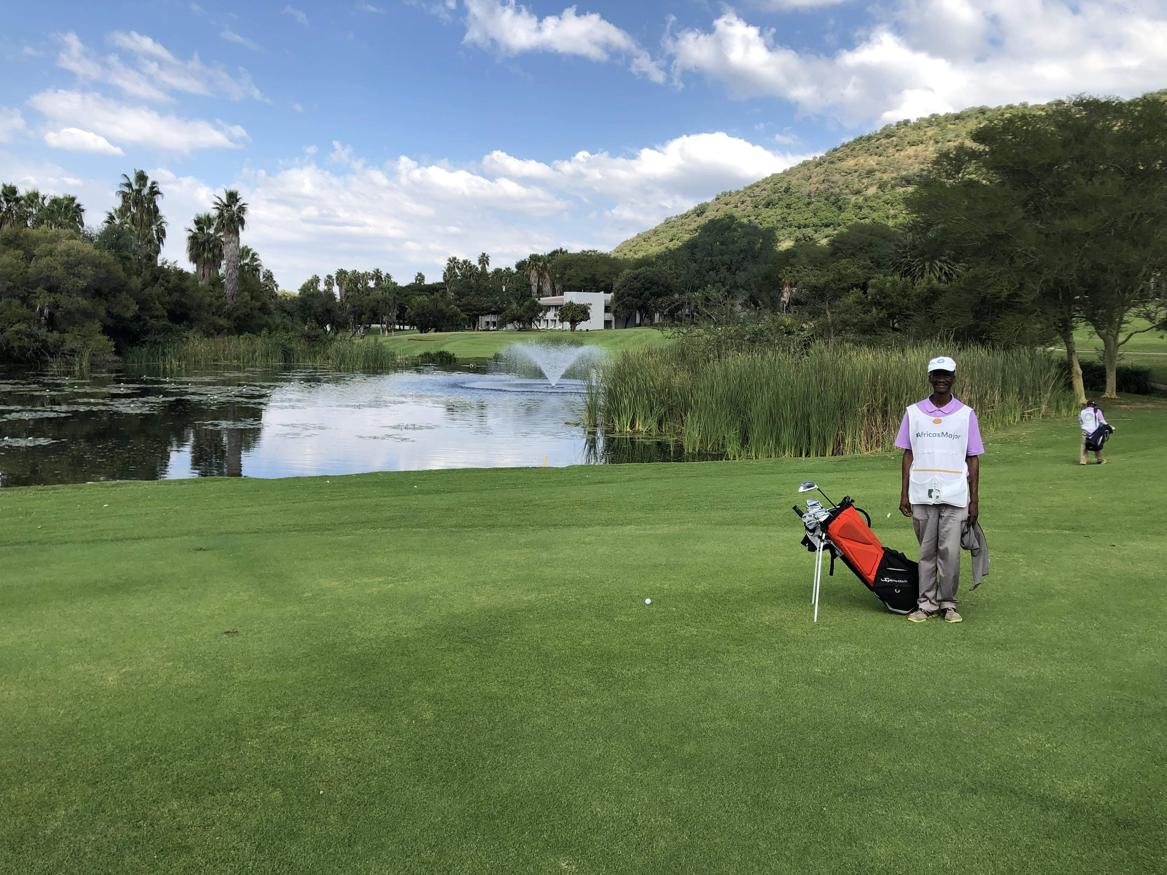 Gary Player course at Sun city, home of the nedbank challenge