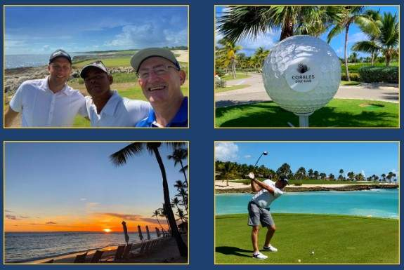 Mark & Stuart of Chaka Travel visit Casa De Campo in the Dominican Republic on a familiarization trip