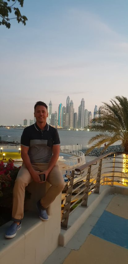 Chaka Business Development Manager Visits Dukes Hotel in Dubai and plays 3 championship golf courses