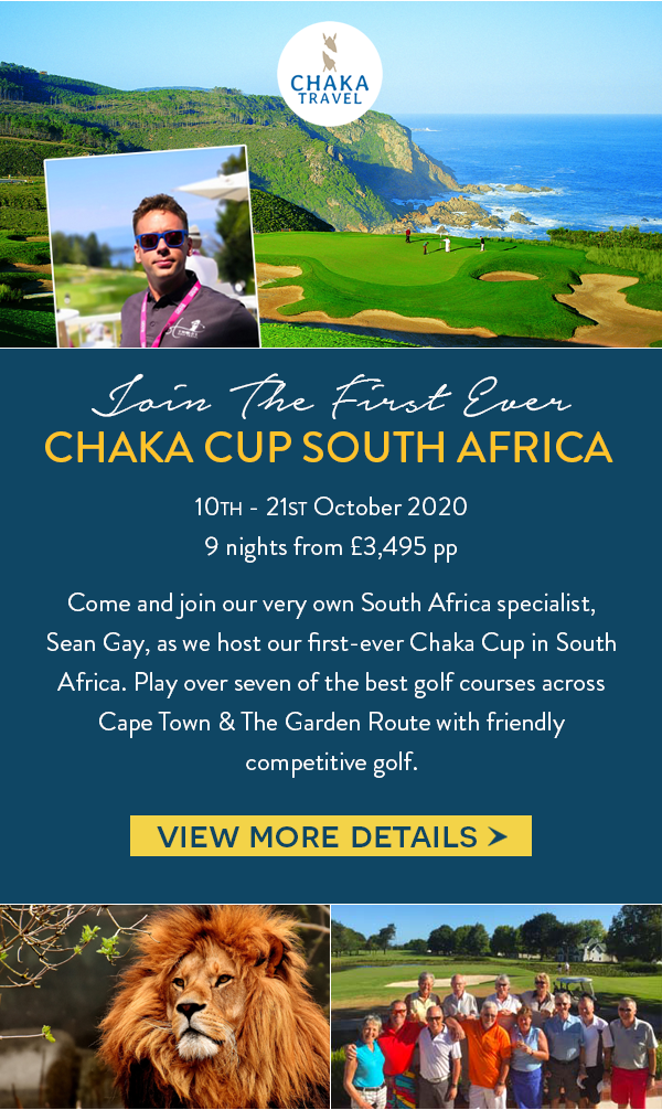 Chaka South Africa Cup led by Sean Gay
