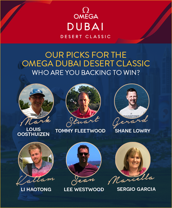 Omega Dubai Desert Classic - Chaka Travel Staff Picks