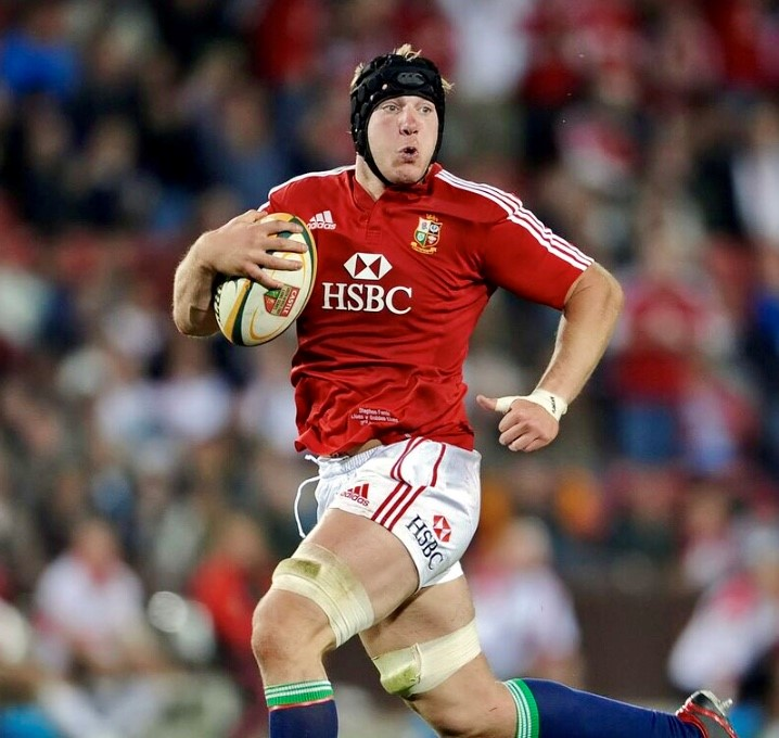 Stephen Ferris British & Irish Lions Rugby Star