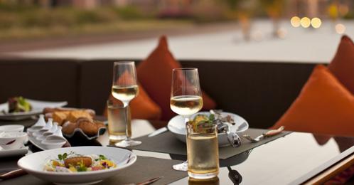 Dining in Emirates Palace Abu Dhabi