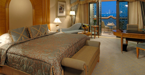 Coral room accommadation in Emirates Palace Abu Dhabi