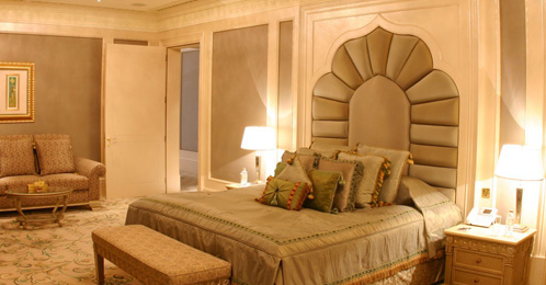 Royal Khaleej suite accommadation in Emirates Palace Abu Dhabi