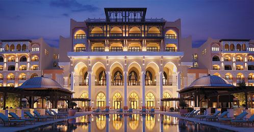 Shangri-La entrance - Abu Dhabi
