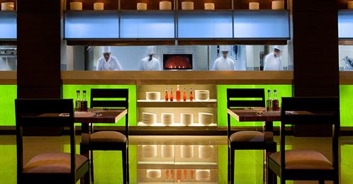 Traders Hotel dining - Abu Dhabi