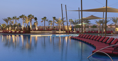 Westin Abu Dhabi Golf Resort poolside - Abu Dhabi