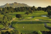 Golf course holiday in the Winelands, South Africa