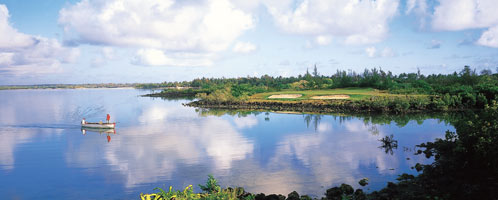 Golf at the Belle Mare Plage, Mauritius