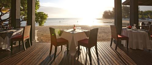 Dining at Le Telfair Mauritius