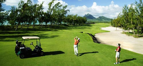 Golf at the Le Touessrok, Mauritius