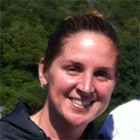 Susan Moran, associate head coach of the Hawks