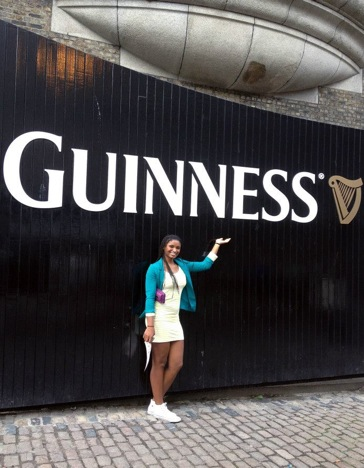 Yale women's basketball team at Guinness