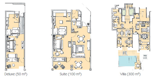 Heritage room layouts