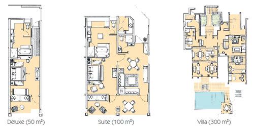 Heritage room layouts