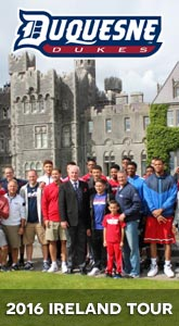 Duquesne Basketball tour of Ireland