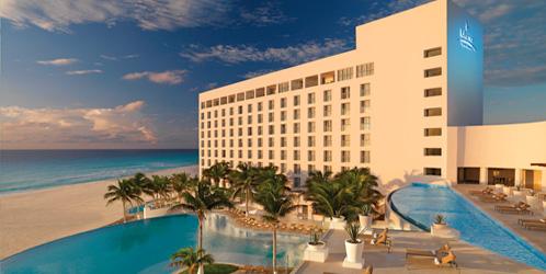 Le Blanc Hotel Pool View