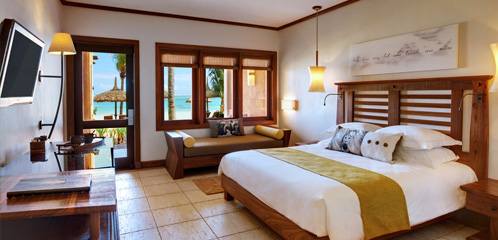 Deluxe Beachfront Rooms and Suites at the Heritage Awali Mauritius