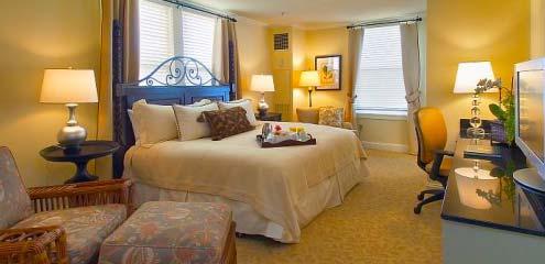 Pinehurst North Carolina Hotel Room