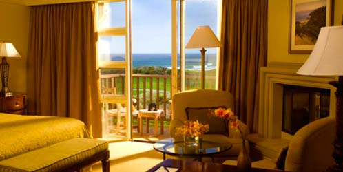 Pebble Beach Hotel Room Ocean View