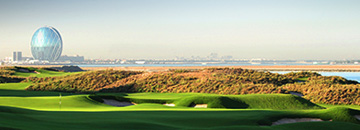 golf in Abu Dhabi crown plaza