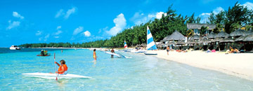 Veranda Palmar Beach Resort Mauritius water sports scene
