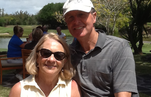 Belle Mare Plage mixed pairs couple