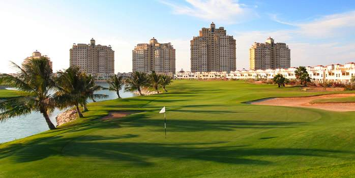 Al Hamra Golf Club United Arab Emirates UAE Middle east Ras Al Khaimah Luxury Golf Holidays Chaka Travel 12th Hole
