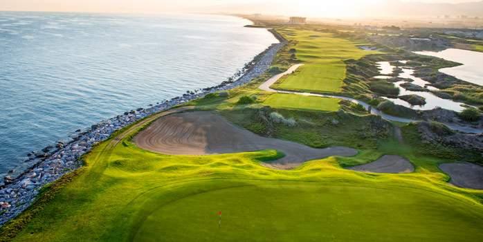 Al Mouj Golf Club Oman Middle East Luxury Golf Holiday Chaka Travel Coast