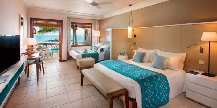 Mauritius Belle Mare Plage, Junior Suite at the Belle Mare Plage by Constance