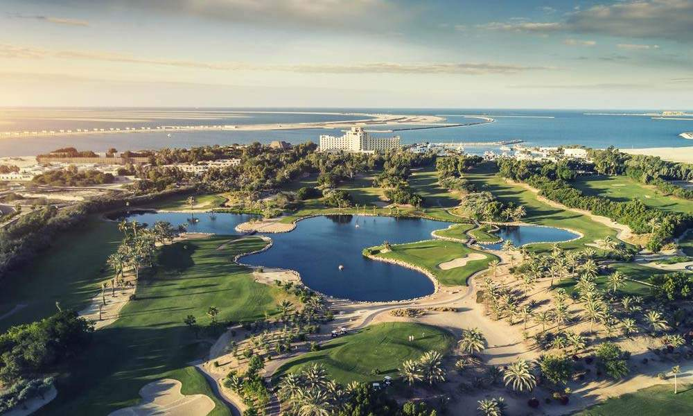 united arab emirate luxury golf holiday chaka travel middle east Jebel Ali