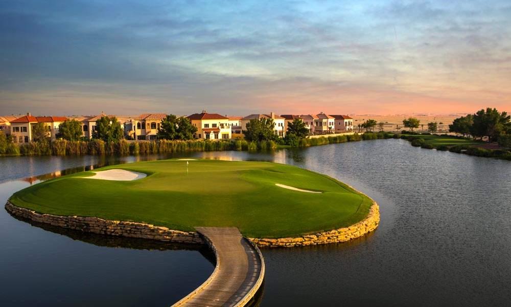 united arab emirate luxury golf holiday chaka travel middle east dubai jumeirah estates earth course club