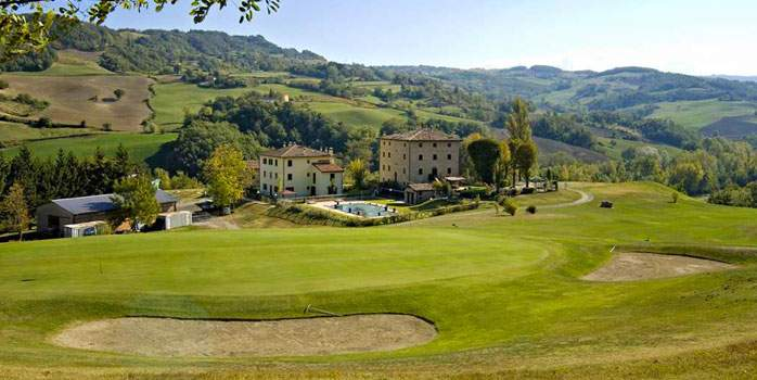 Molino del Pero golf course, golf holidays in Italy