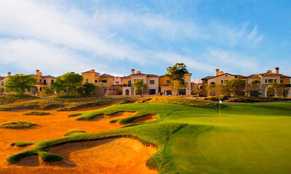 Best Golf Courses in Dubai - 4 Fire Course at Jumeirah Golf Estates | The Vacation Builder
