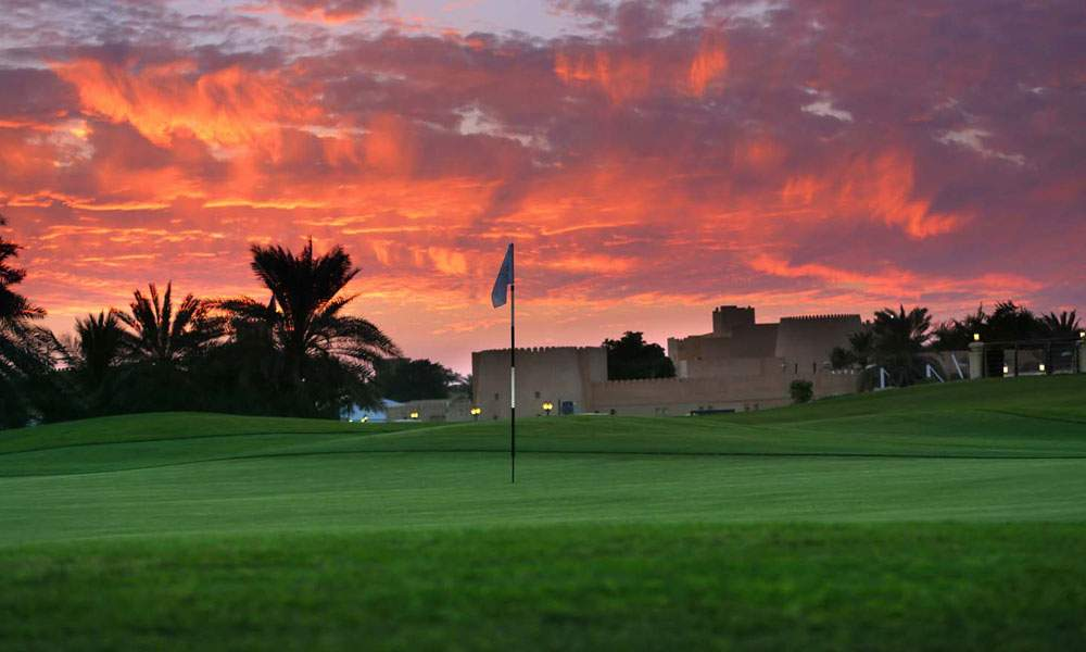 ras al khaimah united arab emirate luxury golf holiday chaka travel middle east al hamra course