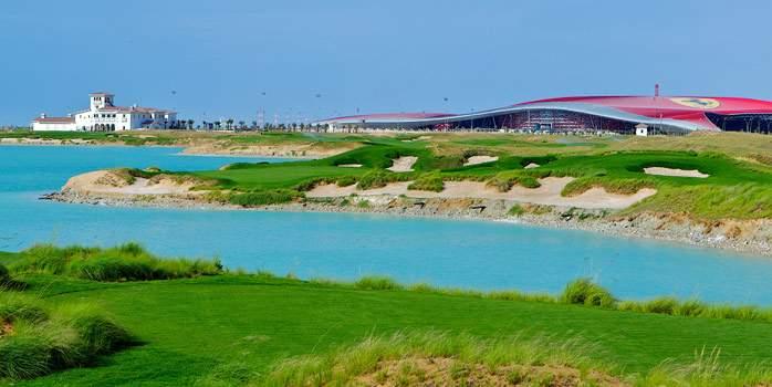 Yas Links Course Abu Dhabi Middle East UAE United Arab Emirates Luxury Golf Holiday Chaka Travel