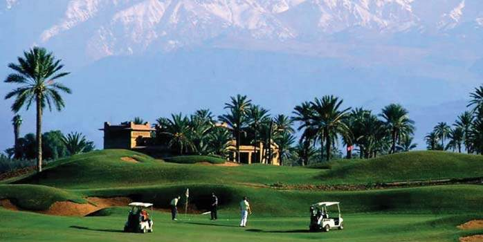 Amelkis Golf Club - Morocco