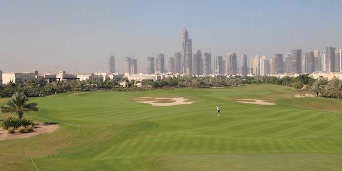 The Montgomerie Golf Course Dubai