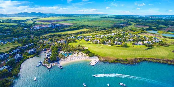 Anahita Golf & Spa Resort Mauritius Golf Holiday Aerial View