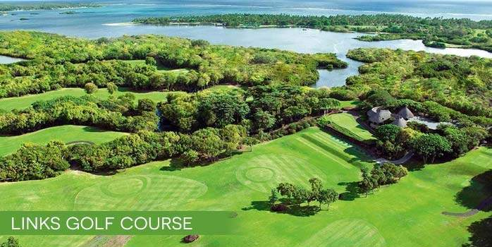 Constance Belle Mare Plage The Links golf course and clubhouse Mauritius Golf Holidays