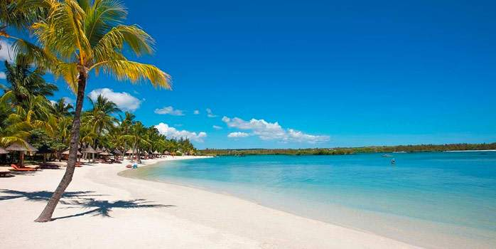 Constance Prince Maurice Mauritius Golf Holiday Beach View