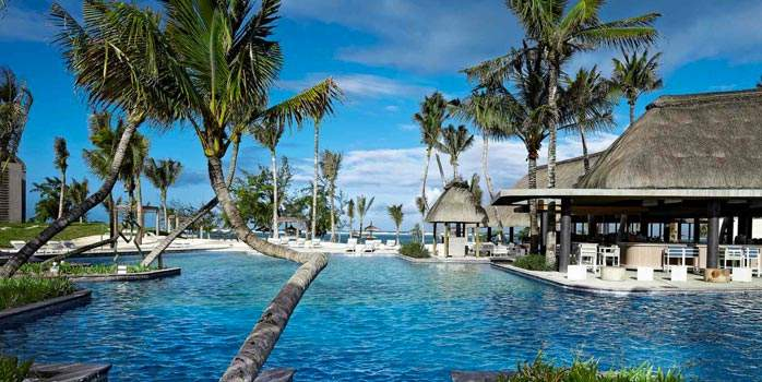 Pool View Long Beach Mauritius Golf Holiday
