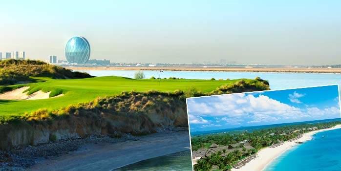 Abu Dhabi and Mauritius Twin Centre Golf Holidays