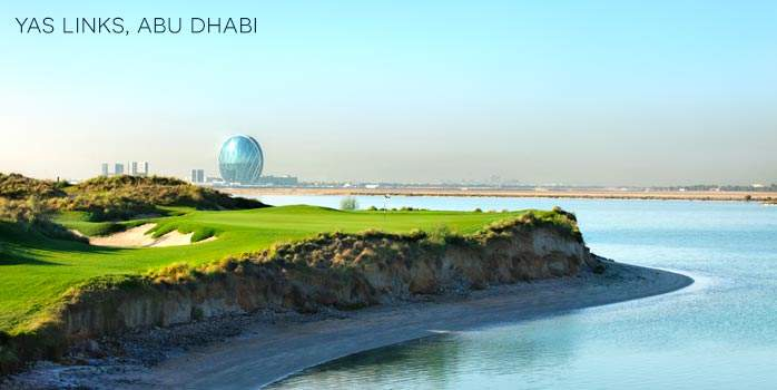 Abu Dhabi and Thailand Twin Centre Golf Offers